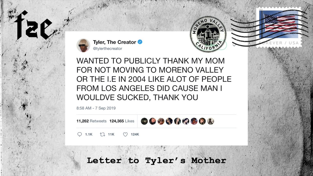 Download Fze - Letter To Tyler's Mother [Tyler The Creator Diss]