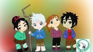 The Hoodie Team (Jack frost - Vanellope - Mary Kate - Hiro Hamada)