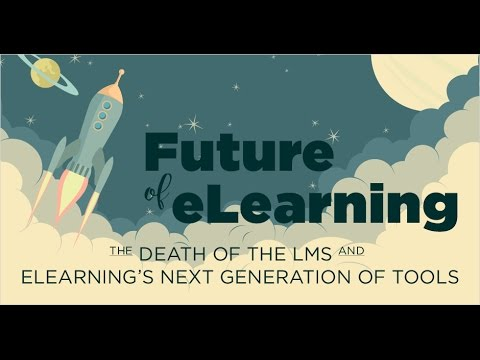 Webinar: Future of eLearning - The Death of the LMS and eLearning s Next Generation of Tools