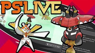 Pokemon Ultra Sun & Moon! Showdown Live: Choice Band Tapu Bulu (Smogon OU Team) w/Dokkerich