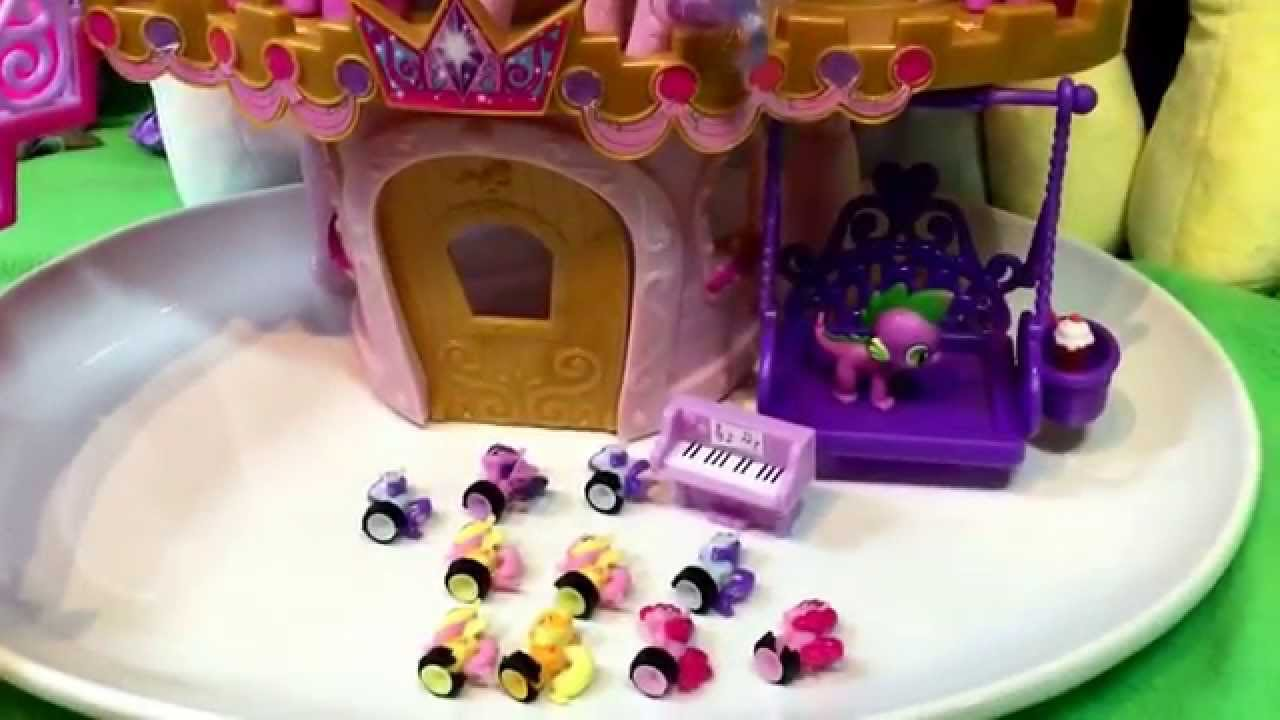 My Little Pony Princess Wedding Set Unboxing Mercari Ponies Plus Squishypops Blind Bag Toys You