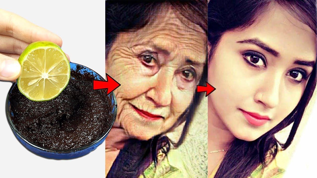 Eliminar Arrugas Y Manchas Oscuras En La Cara Rápidamente Con Mascarilla De Café