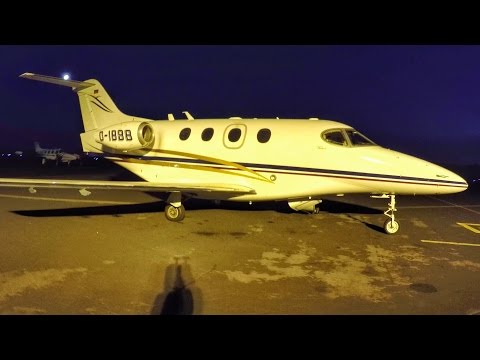FLYING ON A PRIVATE JET!