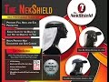 ▶ The NekShield - Neck and Ear Protection that attaches to back of hat.