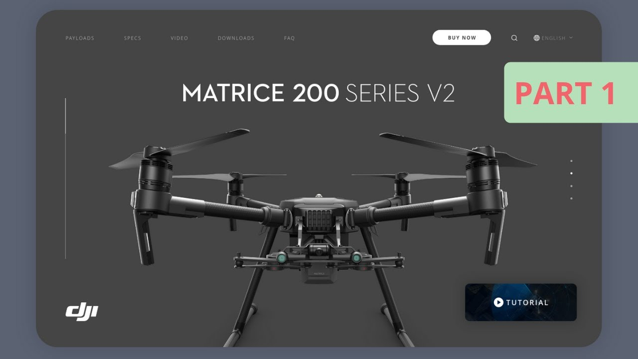 Build a Website For DJI ( Tech / Drone Company)   #30Websites   Day 14/30   PART 1