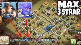Max Miner With Max Bolwer Strategy | 3 Star War Attack TH12 Max Level Clash Of Clans