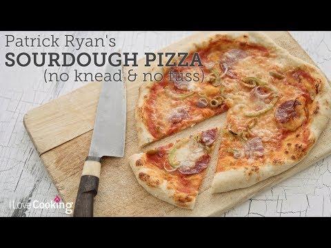 Patrick Ryan&39;s No Fuss Sourdough Pizza