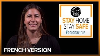 Coronavirus prevention: Stay safe at home (French)