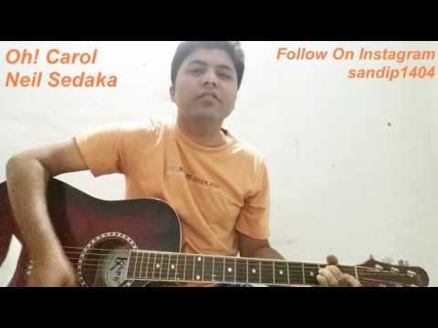 Oh! Carol | Neil Sedaka | Guitar Cover | Cord and Struming See Description