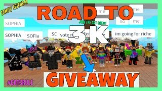 🔴 Road to 3k! - GIVEAWAY $10 ROBLOX CARD! JailBreak & More! ROBLOX LIVE STREAM