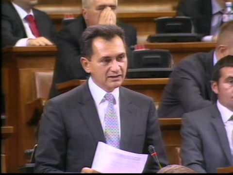 Božidar Đelić na sednici Skupštine za propitivanje članova Vlade (1)