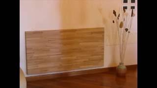 Tavolo a muro in legno con piano a ribalta tavolo con for Tavolo a ribalta mondo convenienza