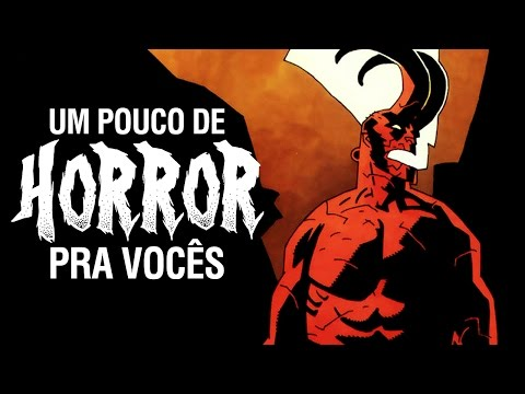 Hellboy! Cripta! Stephen King! LEITURAS DE TERROR | Vlog do PN #179