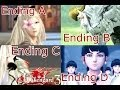 "Drakengard 3 - ""All Endings"" (A,B,C, & D) Cutscenes Movie {English, Full 1080p HD}"