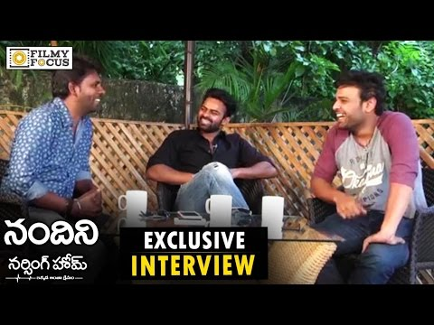 Sai Dharam Tej, Naveen, Satyam Rajesh Super Hilarious Interview about Nandini Nursing Home Movie