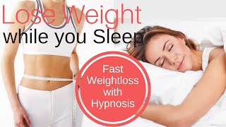 LOSE WEIGHT while you SLEEP ★ Get Success with the Skinny Girl Mindset ★ Weight Loss Hypnosis