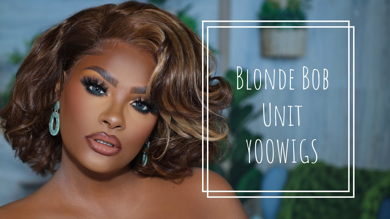 EASY EVERYDAY SHORT BOB BLOND WIG - YOOWIGS