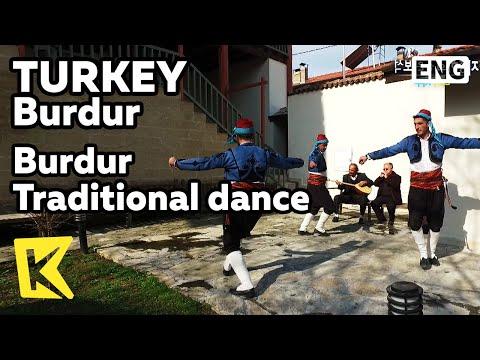 【K】Turkey Travel-Burdur[터키 여행-부르두르]부르두르 추수 전통춤/Traditional/Dance/Harvest