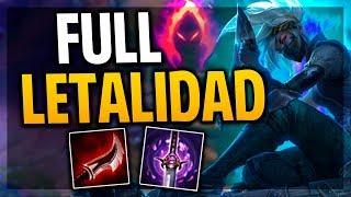 ¡REWORK AKALI FULL LETALIDAD + DARK HARVEST | League of Legends