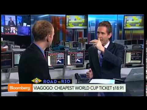Bloomberg interviews viagogo about 2014 World Cup ticket prices
