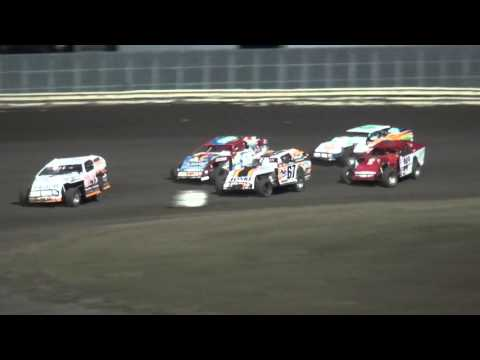 4th Annual Fall Extravaganza Night 1/ IMCA Modified B-Main 1 Lee County Speedway 10/9/15