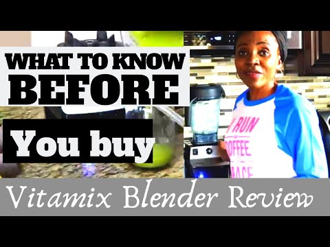 Kitchen Gadgets For Healthy Living - Vitamix Blender | Honest Review *notsponsored