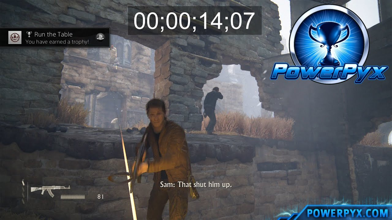 uncharted 4 a thief s end run the table trophy guide chapter 8 rh youtube com uncharted trilogy trophy guide uncharted trilogy trophy guide