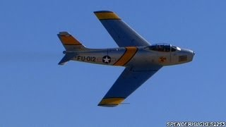 Steve Hinton F-86 Sabre Aerobatic Demo