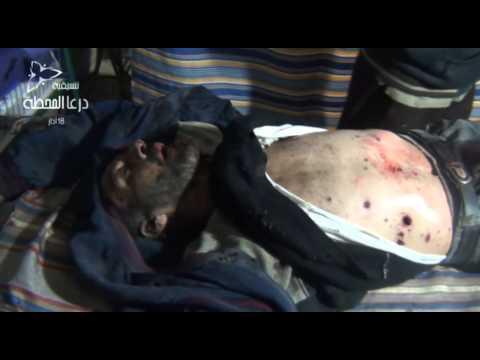 +18 :: درعا المحطة ::أحد شهداء مجزرة طريق السد التي قام بها قوات النظام 24-11-2013