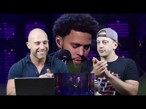 J. Cole - Be Free Live On Letterman METALHEAD REACTION TO HIP HOP!!!