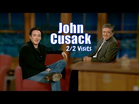John Cusack - They Do A Series Of Awkward Pauses - 2/2 Visits In Chronological Order