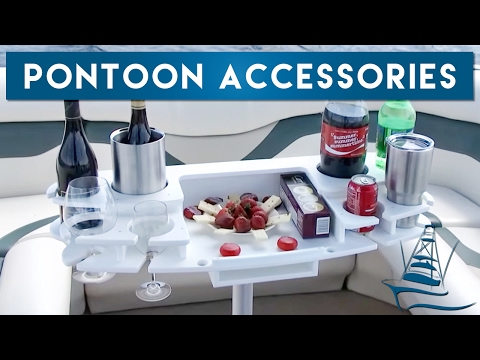 Pontoon Accessories - Drink Holders, Trash Storage and More!