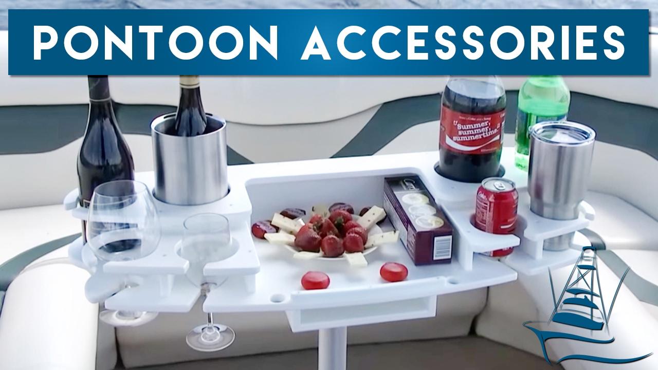 Pontoon Accessories Drink Holders Trash Storage And