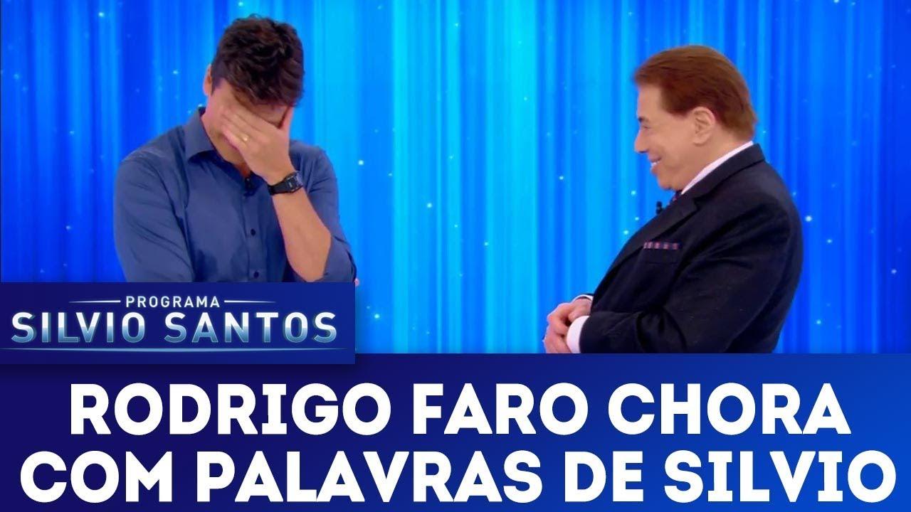 Rodrigo Faro chora com palavras de Silvio | Programa Silvio Santos (23/12/18)