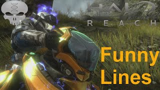 Lines of Halo - Noble Team + Extras (Funny Dialogue)