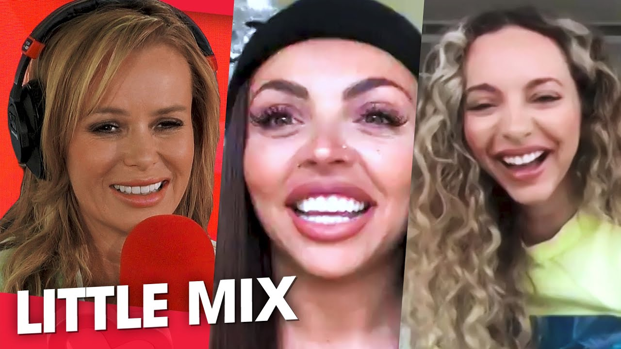 Little Mix's Jade Thirlwall and Jesy Nelson dish all the goss on Leigh-Anne Pinnock's Engagement!