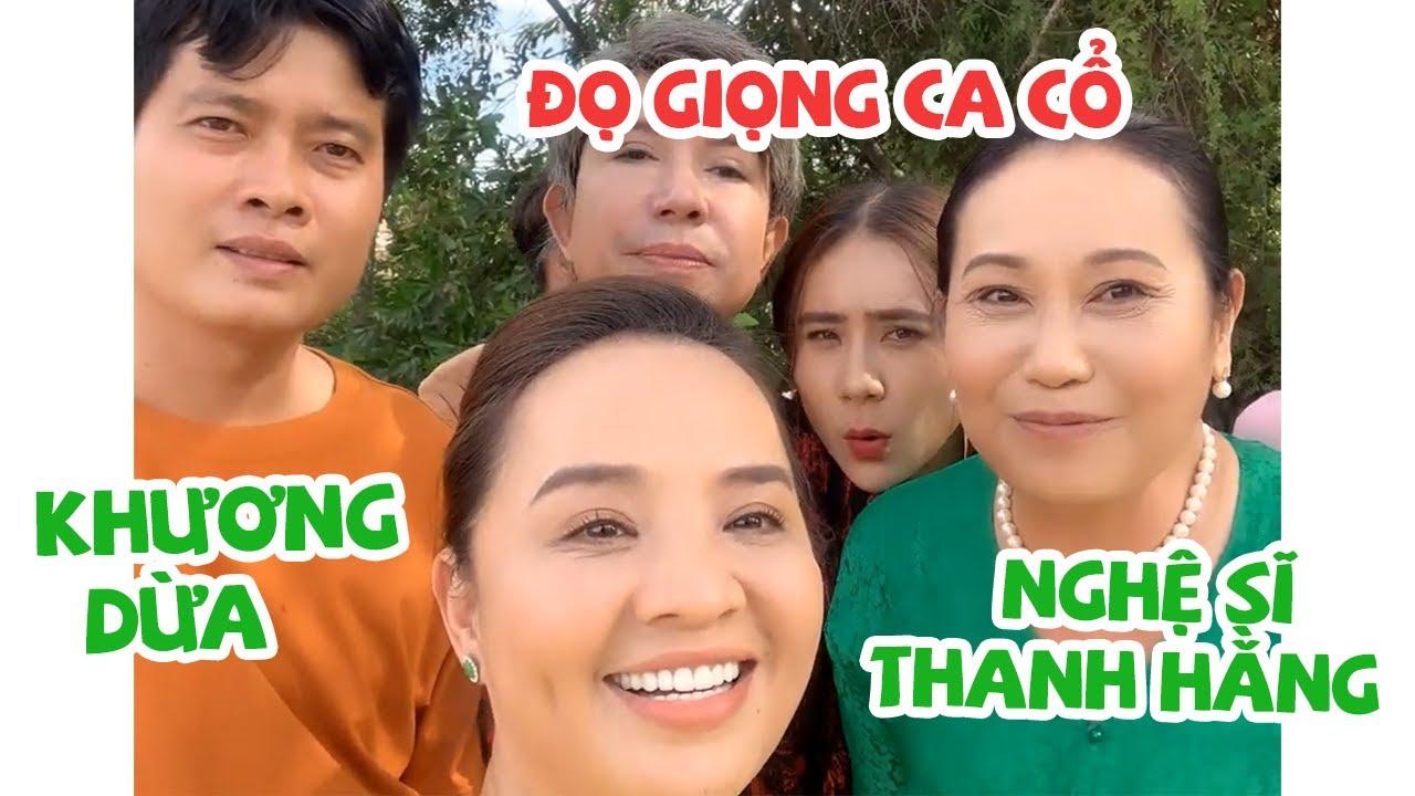 Nghệ sĩ Thanh Hằng và Khương Dừa đọ giọng ca cổ   Hồ Bích Trâm chen vô lạc tông  Hậu truòng phim Tết