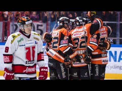 Karlskrona HK - Örebro Hockey Highlights