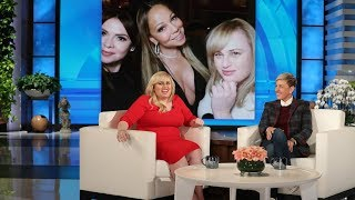 Rebel Wilson Praises 'Team Player' Mariah Carey During Night Out in Aspen