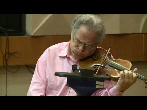 The Perlman Music Program in Jerusalem 2010: Itzhak Perlman