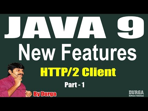 Java 9 || Session - 73||  HTTP/2 Client  Part - 1 by Durga s