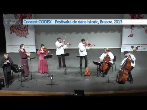 Concert de muzica veche CODEX la Festivalul de dans istoric Brasov