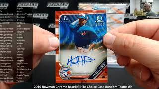 10/16/2019 2019 Bowman Chrome Baseball HTA Choice Case Random Teams #9
