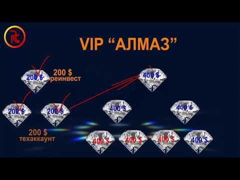 VIP программа Алмаз ⁄ Заработок в компании Riches Company