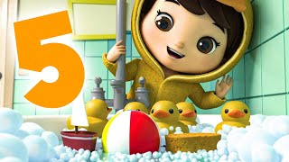 5 Little Ducks NEW!   Nursery Rhymes & Kids Songs!   Baby Songs   Little Baby Animals
