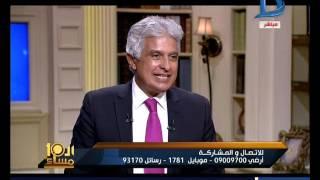 العاشرة مساء|سمير غانم يكشف كواليس لقاء وزير الداخلية شعراوى جمعة ومسرحية مطلوب ليمونه
