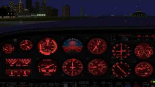 Flight Simulator 2000: Landing at Meigs (KCGX)