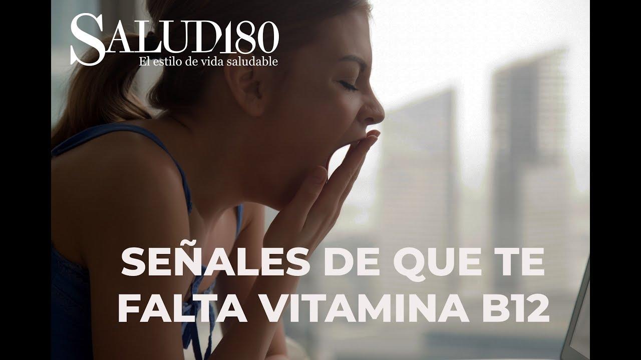 Señales de que te falta Vitamina B12 | Salud180