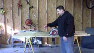 How To Use Sawhorses Safely