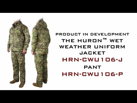 New Product in Development - Huron™ Wet Weather Uniform